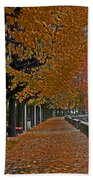 Locarno In Autumn Beach Towel