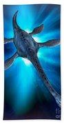 Loch Ness Monster Beach Towel
