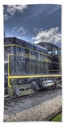 Locomotive II Beach Towel