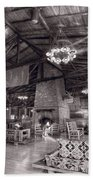 Lodge Starved Rock State Park Illinois Bw Beach Towel
