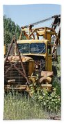 Logging Truck - Burke Idaho Ghost Town Beach Towel