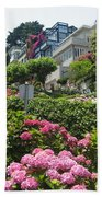 Lombard Street Beach Towel