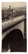 London Bridge - England - C 1896 Beach Towel by International  Images