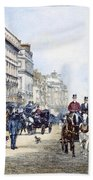 London: Piccadilly, 1895 Beach Towel