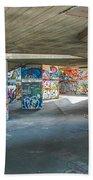 London Skatepark 2 Beach Towel
