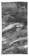 Lone Ram At Red Rock Canyon Beach Towel
