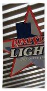 Lone Star Beer Light Beach Towel