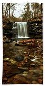 Long Canyon Waterfall Beach Towel
