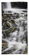 Longfellow Grist Mill Waterfall Beach Towel