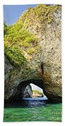 Los Arcos Park In Mexico Beach Towel