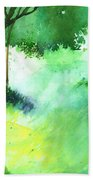 Lost In Thought Beach Towel by Anil Nene