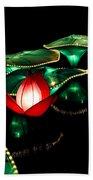 Lotus Lanterns 4 Beach Towel
