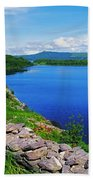 Lough Caragh, Co Kerry, Ireland Beach Towel