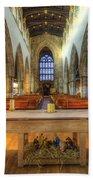 Loughborough Church Altar Beach Towel