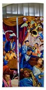 Louis Armstrong Airport Beach Towel