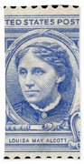 Louisa May Alcott (1832-1888) Beach Towel