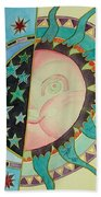 Love You Day And Night Beach Towel