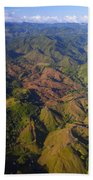Lowland Tropical Rainforest Cleared Beach Towel