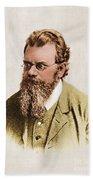 Ludwig Boltzmann, Austrian Physicist Beach Towel