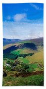 Luggala, Co Wicklow, Ireland Beach Towel
