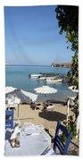 Lunch On The Mediterranean  Beach Towel