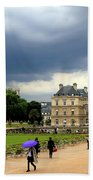 Luxembourg Gardens 2 Beach Towel