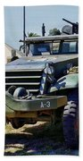 M-2 Half-track Beach Towel