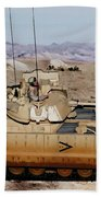 M2 Bradley Fighting Vehicle Beach Towel
