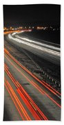 M5 At Night Beach Towel