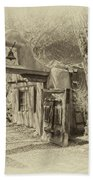 Mabel's Gate As Antique Print Beach Towel