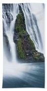 Macarthur-burney Falls 1 Beach Towel