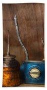 Machinist - Tools - Lubrication Dispensers  Beach Towel
