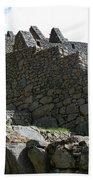 Machu Picchu Peru 12 Beach Towel