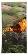 Magical Places For Butterflies Beach Towel