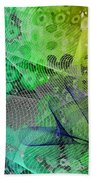 Magnification 5 Beach Towel by Angelina Vick