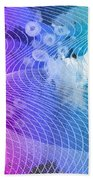 Magnification 6 Beach Towel by Angelina Vick