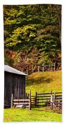 Mail Pouch Tobacco Barn Beach Towel
