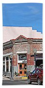 Main Street In Silver City Nm Beach Towel