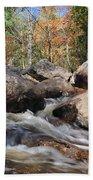 maine 29 Baxter State Park Trailside Stream Beach Towel