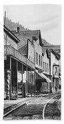 Mainstreet Burke Ghost Town - Idaho Beach Sheet