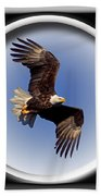 Majestic Flight Beach Towel