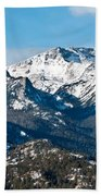 Majestic Rockies Beach Towel