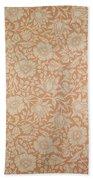 Mallow Wallpaper Design Beach Towel