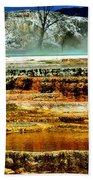 Mammoth Terrace - Yellowstone Beach Towel