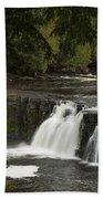 Manabezho Falls 1 Beach Towel