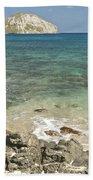 Manana Island View 0068 Beach Towel
