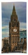 Manchester Town Hall Beach Towel