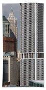Manhattan Buildings Beach Towel