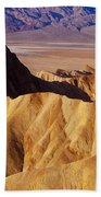 Manley Beacon Death Valley Beach Towel