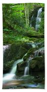 Mannis Branch Falls Beach Towel